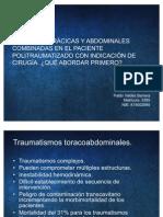 lesiones toracoabdominales