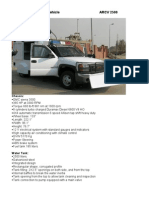 Riot Control Vehicle RCV 3500
