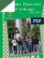 Agenda Educativa Ciutat Alzira 2012