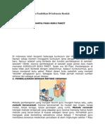7 Fakta Penyebab Mutu Pendidikan Di Indonesia Rendah