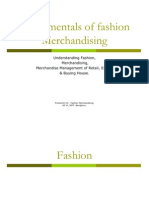 Fundamentals of Fashion Merchandising