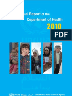 Annual Report of the Department of Health 2010 UN