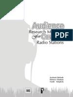 Audience Resarch Handbook