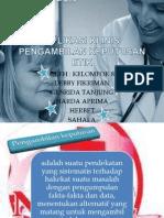 Aplikasi Klinis Pengambilan Keputusan Etik