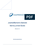 Jasper Reports Server Install Guide