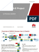 VNPT MAN-E L2 Switch Access Solution