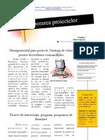 T1 Managementul Prin Proiecte