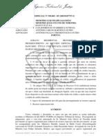 Acórdão STJ - cédula crédito rotativo - execução