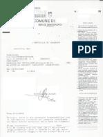 Esempio Certificato Storico Di Residenza