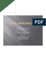 Edmundo Casino - Legal Impediments vs Option to Purchase