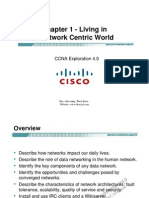 CCNA Exp1 - Chapter01 - Living in a Network-Centric World