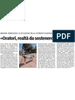 02/19/12-Giornata degli oratori-Gazzetta di Parma