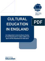 Cultural Education Report