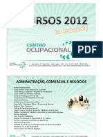 CURSOS CENTRO OCUPACIONAL 31 3771 5036