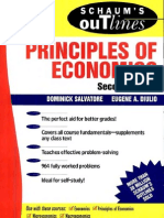 Schaum's Outline of Principles of Economics