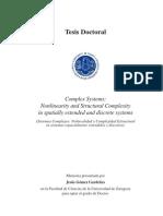 Tesis. Gomez Gardenez, J. Sistemas Complejos No Lineal Id Ad y Complejidad Estructural