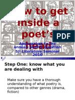 Phillip Mcconnell's Unseen Poetry Sji Lit Seminar