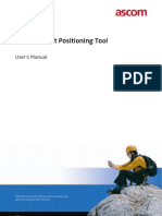 TEMS Pocket Positioning Tool User's Manual