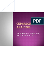 Under Graduate Cephalometric Analysis