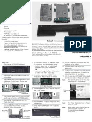 MTR2000 MOTOTRBO™ | Motorola | Computing