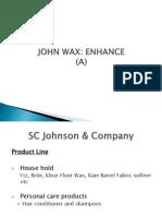 Johnson Wax Case Study