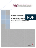 Documento de Estandares de Codificación en HTML