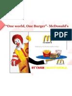 Mcdonalds  Retailing strategy