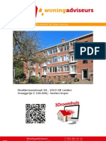 Brochure Moddermanstraat 30 te Leiden