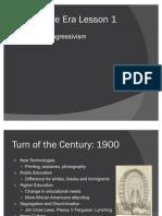 Progressive Era and World War I Power Points