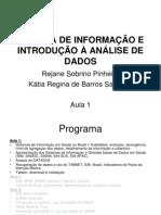 Aula_1_ SISTEMA DE INFORMAÇÃO E INTRODUÇÃO À ANÁLISE (1)