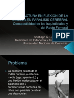 Contractura en Flexion de La Rodilla en Paralisis Cerebral