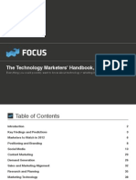 Technology Marketers Handbook
