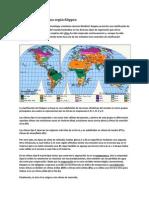 Clasificación del clima según Köppen