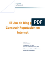 Construir Reputacion Con Un Blog