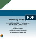 Indexierung mit MySQL