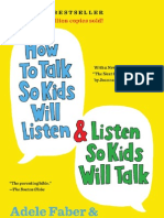 How to Talk So Kids Will Listen and Listen So Kids Will Talk (excerpt)