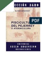 Libro Piscicultura Del Pejerrey