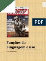 FUNÇÕES DA LINGUAGEM E USO
