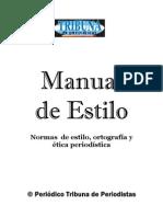 Manual de Estilo Periodistico