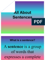 All About Sentences