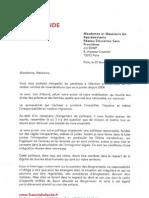 Réponse de François Hollande à RESF