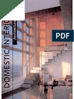 Architectural Design - Domestic Interiors