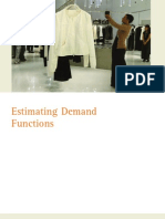 Old Chapter 5 on Estimating Demand