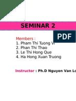 Seminar 2.1