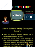 Ldv Descriptive Essay