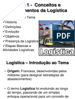 Aula 1 -  Conceitos e Fundamentos da Logística