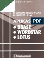 Aplikasi DBaseWS&Lotus