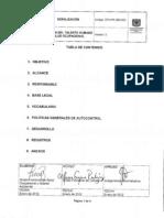 GTH-PR-280-029 Señalizacion