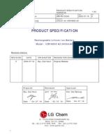 LG 2400mAh ICR18650 A3