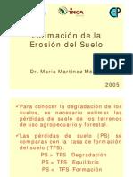 Aplicacion RUSLE Mexico SAGARPA